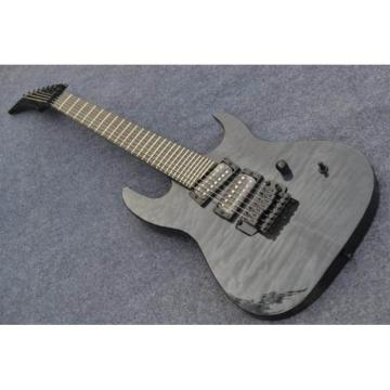Custom 7 Strings Puerto Rico Flame Gray Electric Guitar