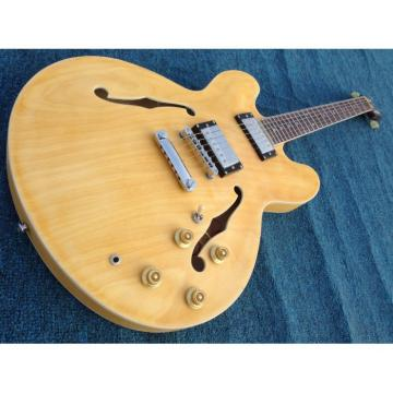Custom 1959 ES 335 Matte Finished Natural Electric Guitar