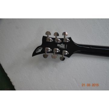 Custom  Washburn Priestess Series Black Paul Stanley Electric Guitar