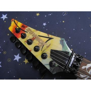 Custom 2013 Ibanez Flower Electric Guitar