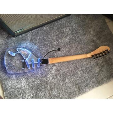 Crystal Multi Colored Option Plexiglass Led Acrylic Electric Guitar