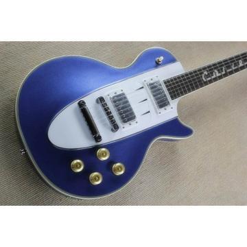 Corvette Custom Shop Metallic Blue Electric 6 String Guitar