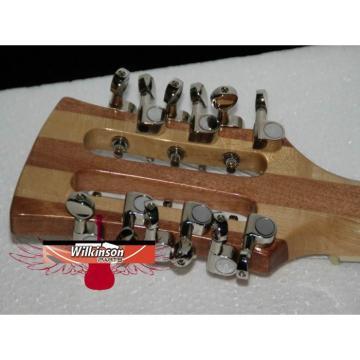 12 Strings Custom Shop 360  3 Pickups Naturalglo Electric Guitar
