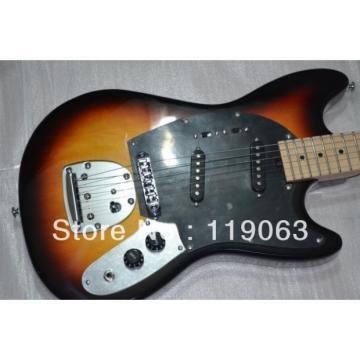 6 Strings Mustang Vintage Sunburst Electric Guitar