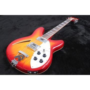 12 Strings Custom 360 2 Pickups Cherry SunBurst Electric Guitar