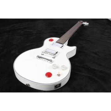 Custom White Buckethead Ultimate Electric Guitar