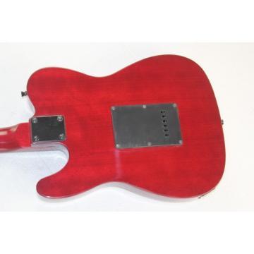 Custom Telecaster Maroon 6 String Electric Guitar