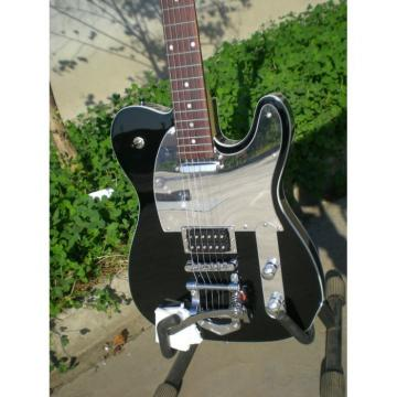 Custom Shop Telecaster Tremolo Black 6 String Electric Guitar