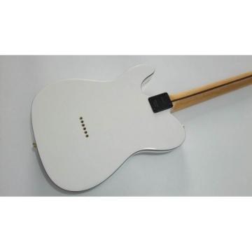 Custom Shop White Black Binding Telecaster Electric Guitar
