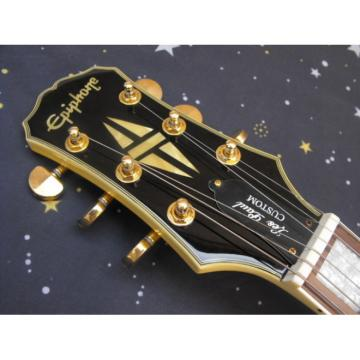 Custom Shop TV Yellow Cream Epi LP Electric Guitar