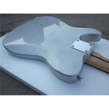 Custom Shop Silver Gray Telecaster Blacktop Electric Guitar