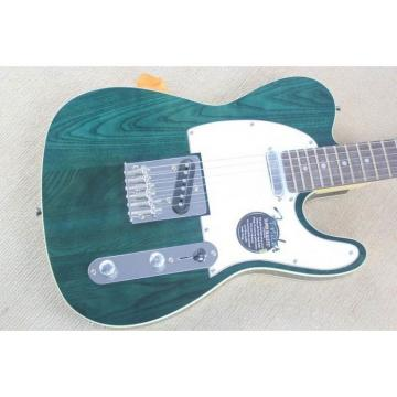 Custom Shop Standard Telecaster Teal Electric Guitar Wilkinson  Hardware