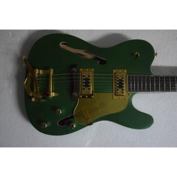 Custom Shop Standard Telecaster Green Metallic Cabronita Electric Guitar Hi Lo trons Pickups