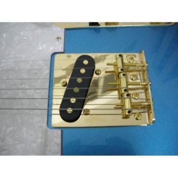 Custom Shop Standard Telecaster Blue Electric Guitar