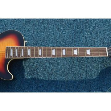 Custom Shop One Pickup Tri Color Standard  LP Electric Guitar