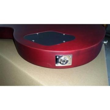Custom Shop Matte Red Wine Standard  LP Electric Guitar