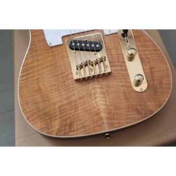 Custom Shop Maple Burlywood Telecaster Stripe Electric Guitar