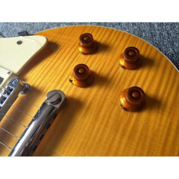 Custom Shop LP Electric Guitar Tiger Maple Top