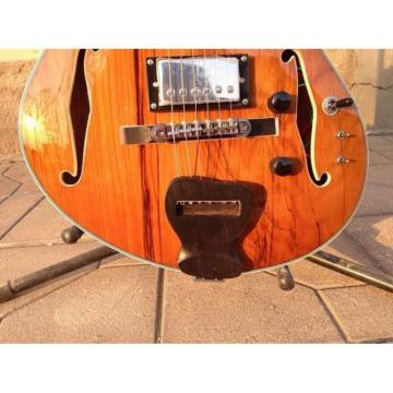 Custom Shop Languedoc Electric Guitar Fhole Deadwood with Bracing Inside