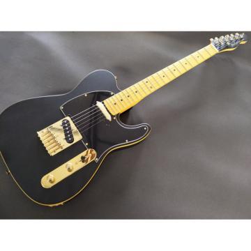 Custom Shop Fender Matte Black Telecaster Electric Guitar