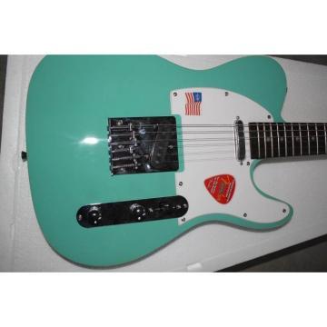 Custom Shop Jeff Beck Telecaster Teal Electric Guitar