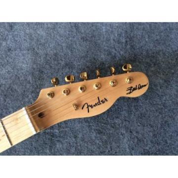 Custom Shop Design Buck Owens Telecaster Electric Guitar Transparent Headstock
