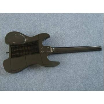 Custom Shop Black Steinberger No Headstock Electric Guitar
