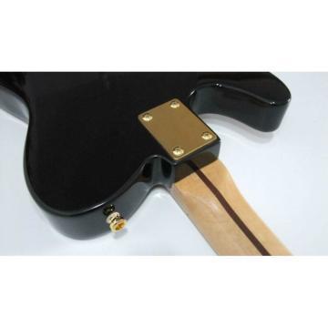 Custom Shop Black Gold Paisley Design Telecaster Electric Guitar James Burton