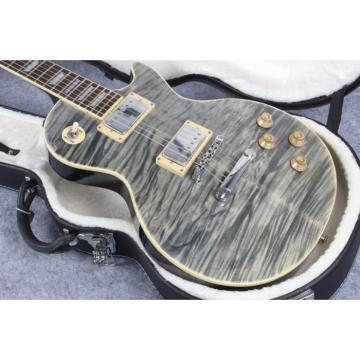 Custom Shop Ash Tiger Maple Top 6 String Electric Guitar