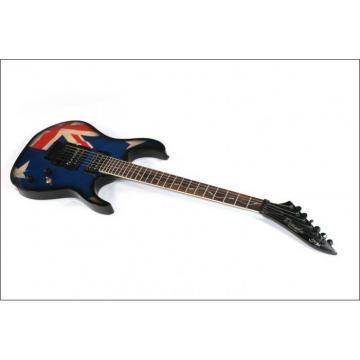 Custom Shop 6 String UK Flag Electric Guitar