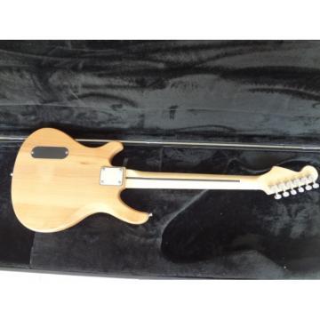 Custom Shop 6 String Mermaid Carved Natural Electric Guitar