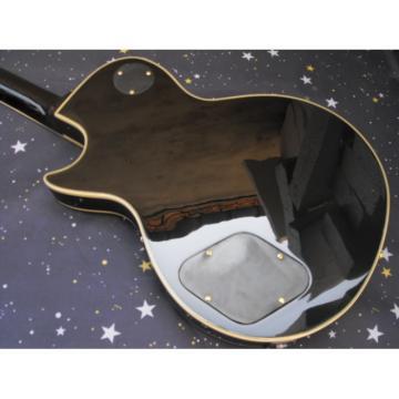 Custom Shop 3 Pickups Black Beauty LP Electric Guitar