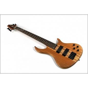 Custom Shop 5 String Natural Electric Guitar
