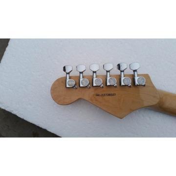 Custom Orford Cedar Stratocaster Cherry Sunburst Electric Guitar