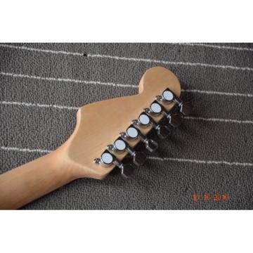 Custom Handmade 6 String Dragon Electric Guitar Carvings