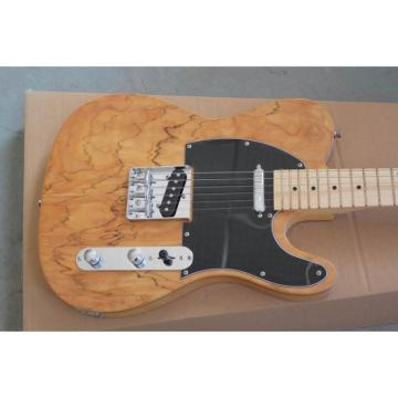 Custom Maple Burlywood Telecaster Electric Guitar