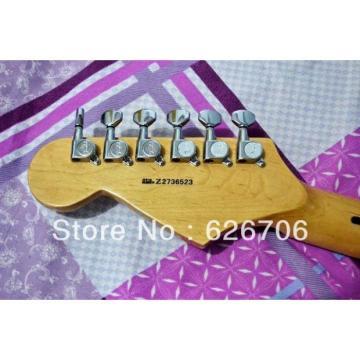 Custom Fender Natural Wood Stratocaster Electric Guitar