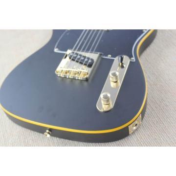 Custom Fender Matte Black Telecaster Electric Guitar