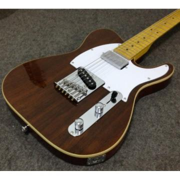 Custom Classic Telecaster Rosewood Body 6 String Electric Guitar