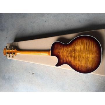 Custom Built Iced Tea Maple Top LP 6 String Electric Guitar