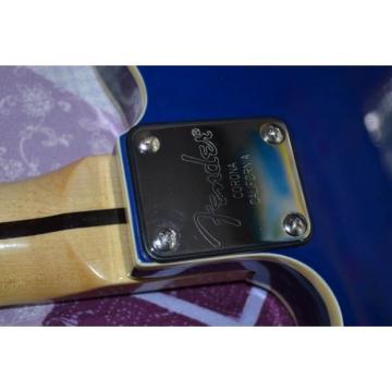 Custom Fender American Standard Telecaster Blue Electric Guitar