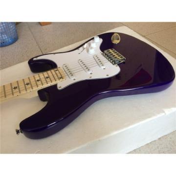 Custom American Stratocaster Purple Electric Guitar