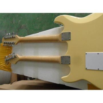 Custom Built Fender Stratocaster Vintage Double Neck Guitar
