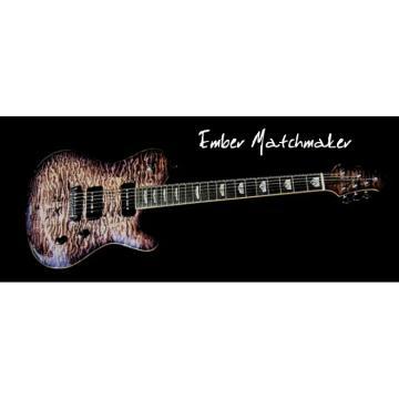 Custom Built 5A Quilt Guitar