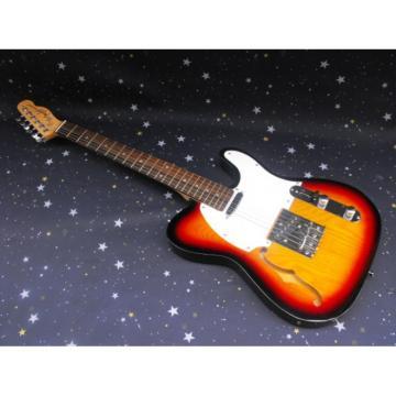 Hollow Body Fender Tobacco Telecaster Guitar