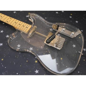 Custom Transparent Fender Acrylic Telecaster Guitar