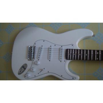 Custom Shop White Fender Stratocaster Guitar