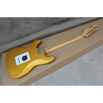 Custom Shop Gold Fender Stratocaster Guitar