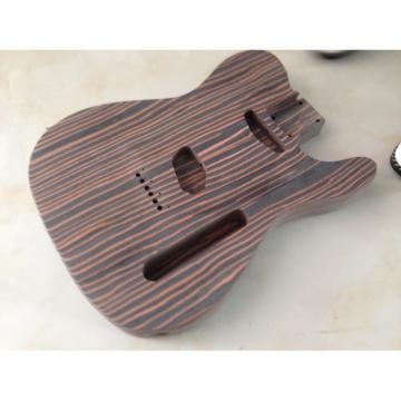 Custom Shop Fender Telecaster Unfinish Builder Guitar Zebra