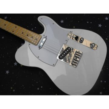 Custom Fender White Telecaster Guitar